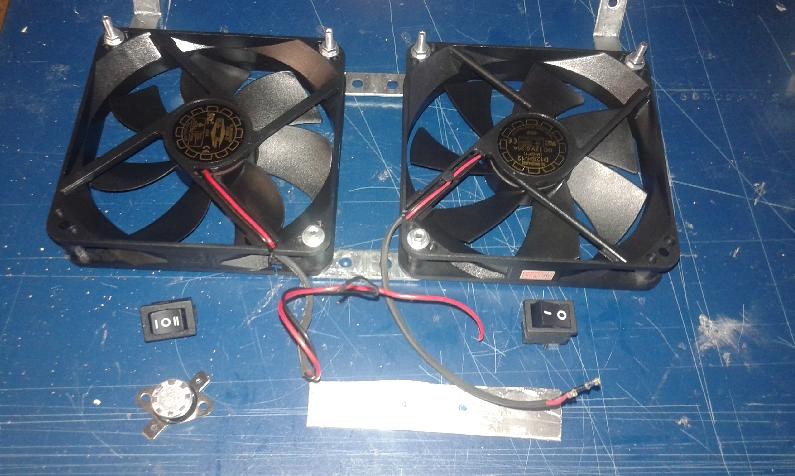 Fabrication bricolage r alisation d 39 un syst me de ventilation de r frig r - Fonctionnement d un refrigerateur ...